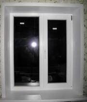натяжной потолок,  окна ,  пластиковые откосы