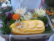 Курсы карвинга(искусство резьбы по овощам и фруктам)